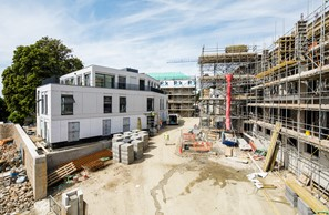 College Gardens Construction Site Update - Aug 2017 Image