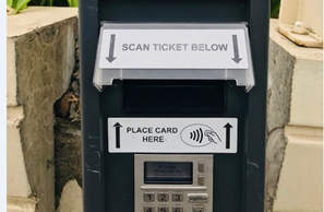 Upgraded Waterfront Car Park allows easier payment Image