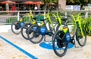 EVie Bikes now stationed at Marina Gardens Image